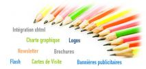 Cr�ation graphique et int�gration
